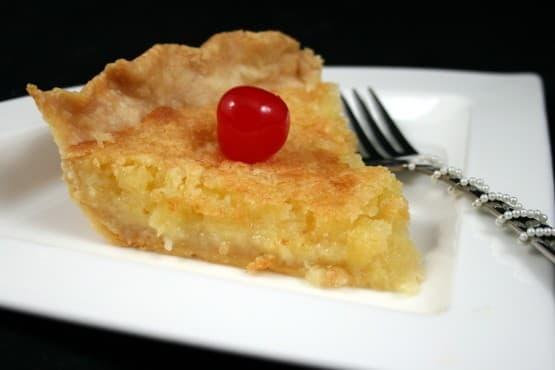 Pineapple Pie – (Johnny Cash's Mother's Recipe)